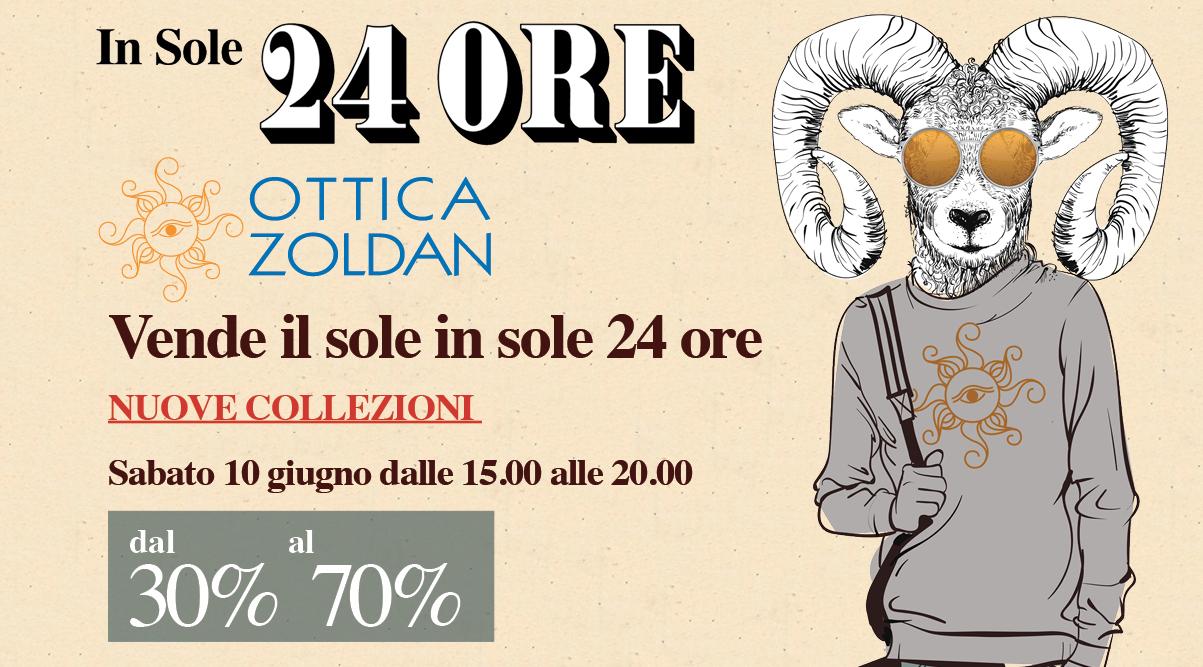 Ottica Zoldan vende il sole In Sole 24 ORE!